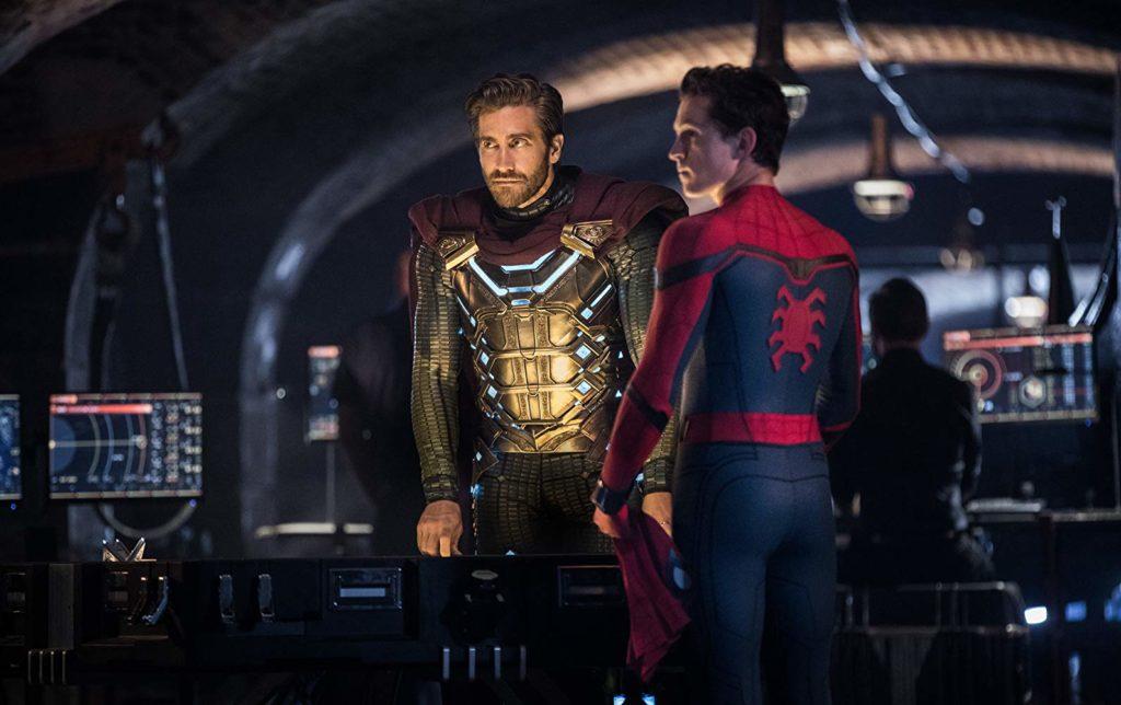 ミステリオとスパイダーマン