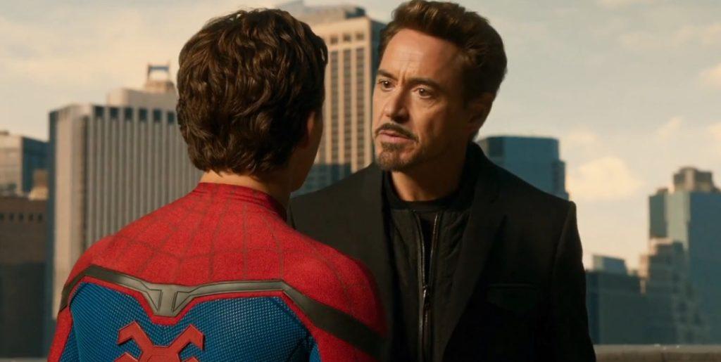 トニーとピーターの師弟関係