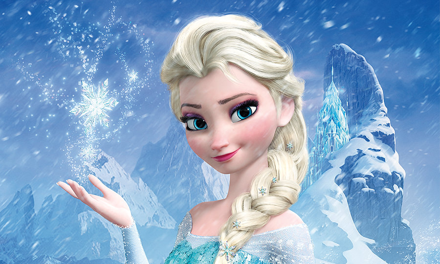 アナと雪の女王のエルサ