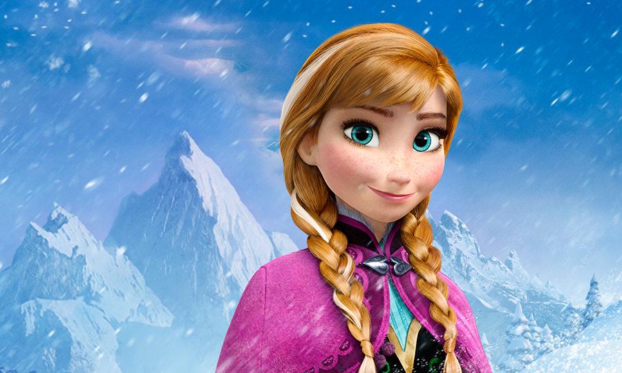 アナと雪の女王のアナ