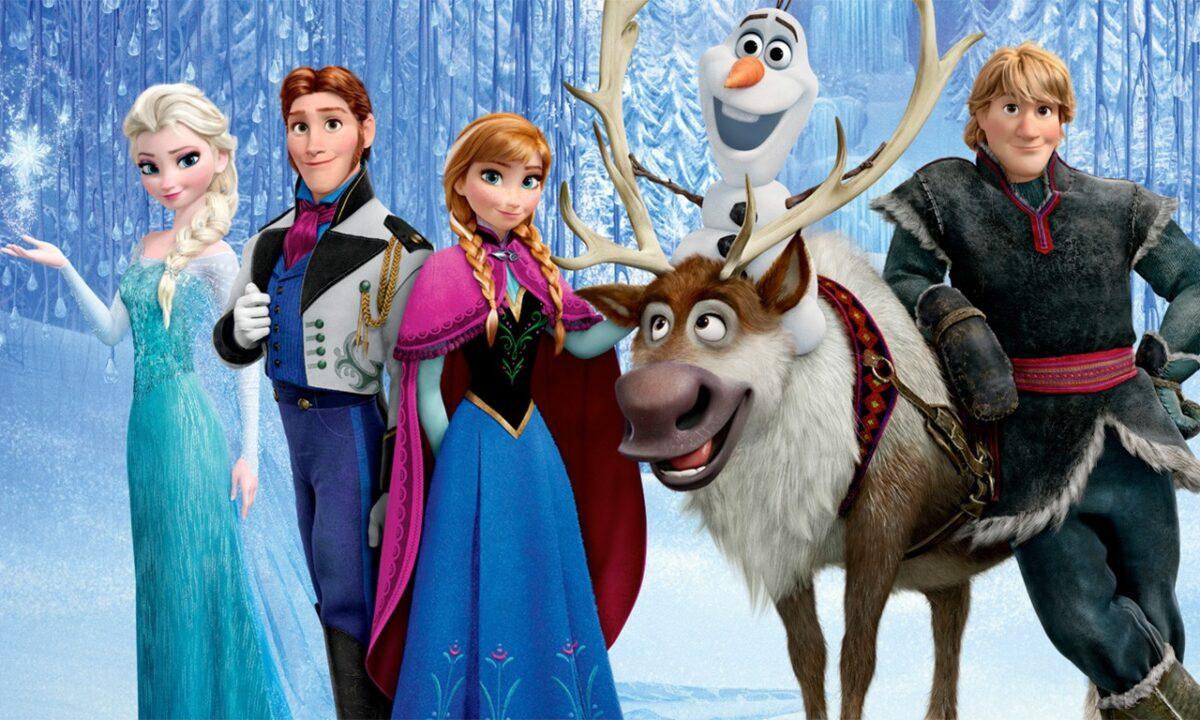 アナと雪の女王メインビジュアル
