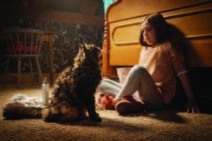 『ペット・セメタリー』より、ゲージと猫のチャーチ