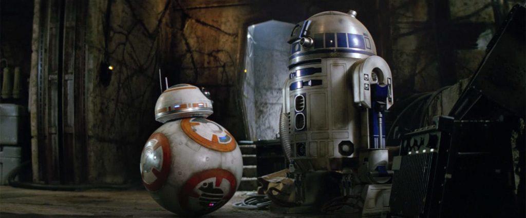 BB-8とR2-D2