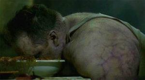 セブン「暴食の殺害現場」のシーン