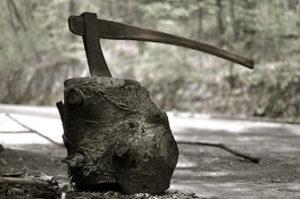 斧や鎌の画像