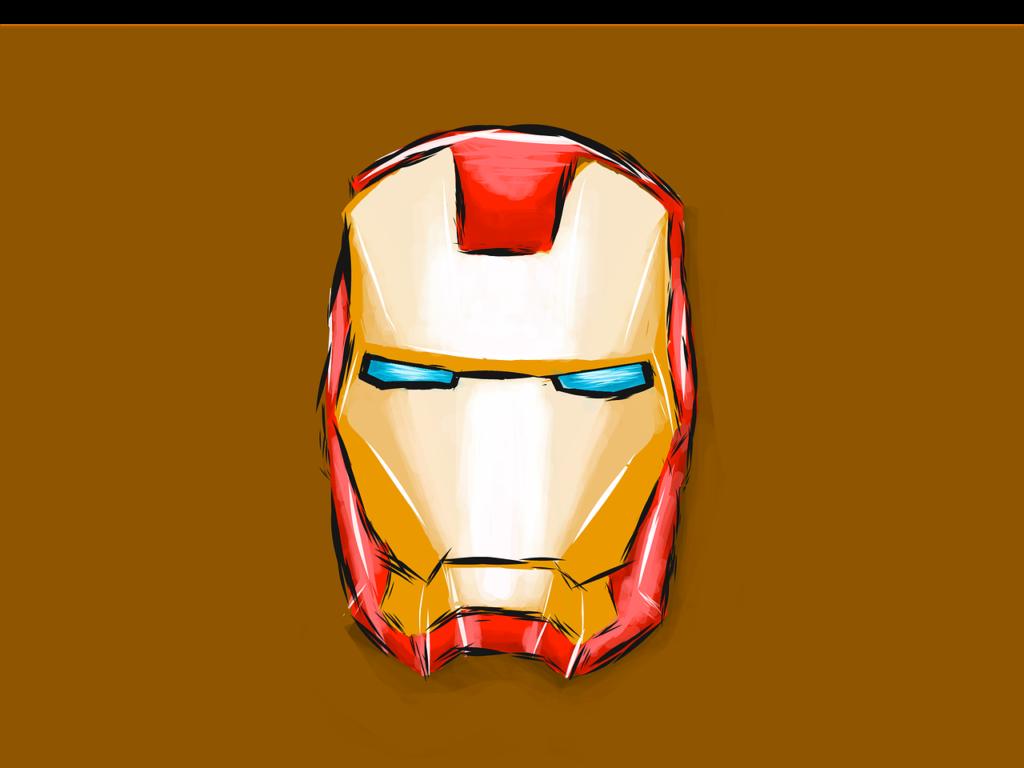 アイアンマンのマスク