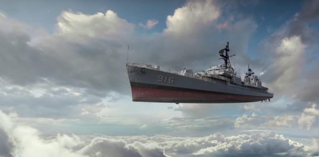 退役した軍艦