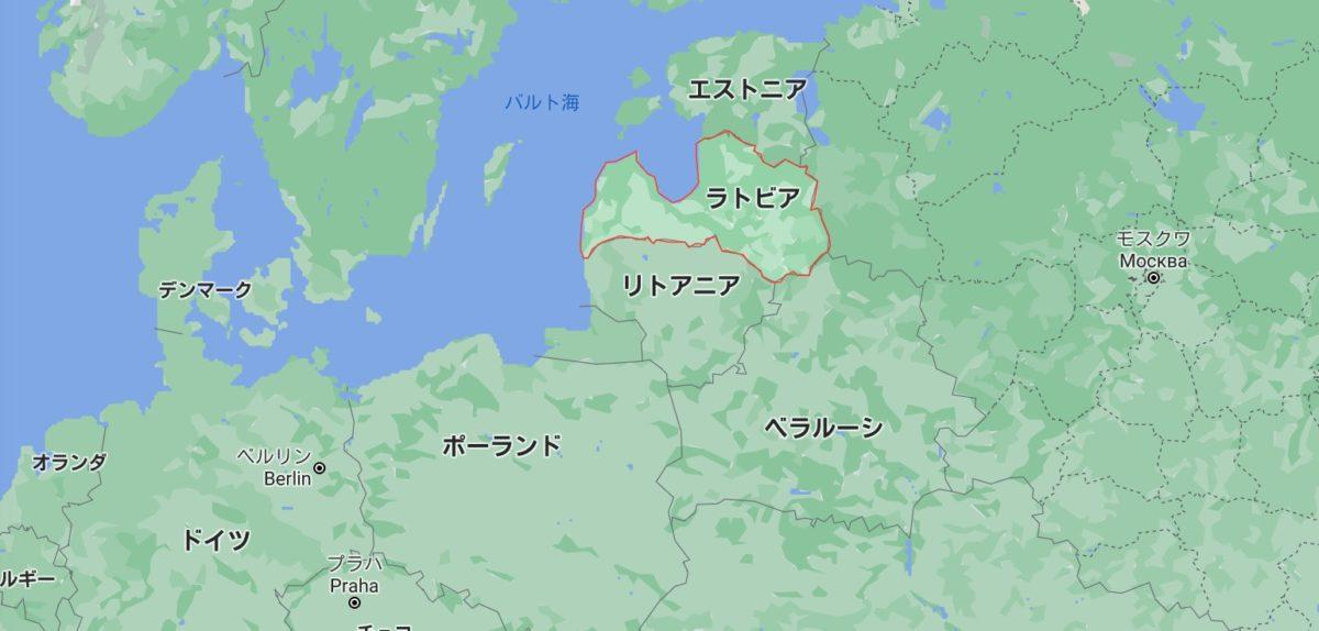 ラトビアの地理