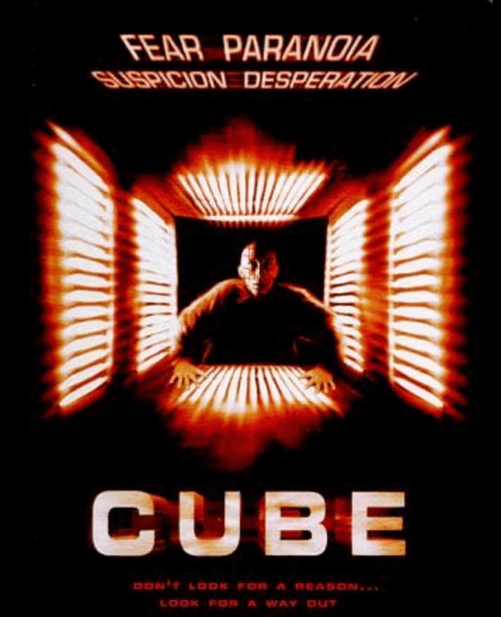 CUBEのポスター