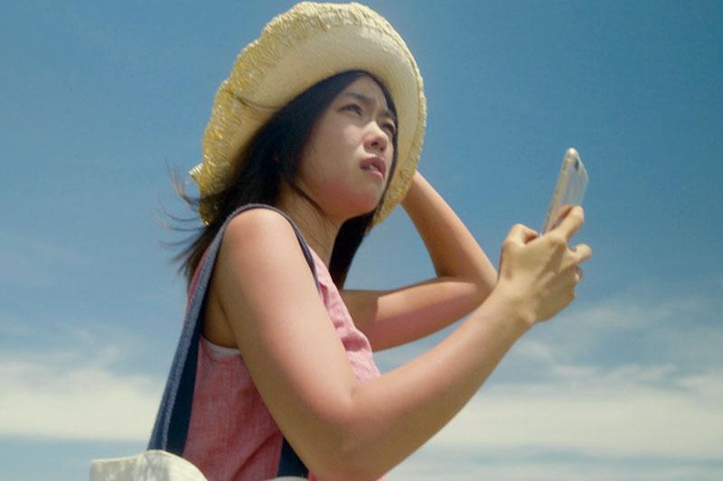 映画『1秒先の彼女』場面写真